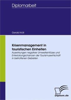 Krisenmanagement in touristischen Einheiten (eBook, PDF) - Kröll, Gerald