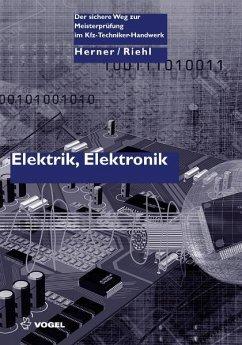 Elektrik/Elektronik (eBook, PDF) - Herner, Anton; Riehl, Hans J