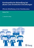 Homöopathische Behandlung bei akuten und chronischen Erkrankungen (eBook, PDF)