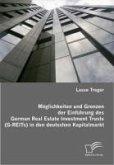 Möglichkeiten und Grenzen der Einführung des German Real Estate Investment Trusts (G-REITs) in den deutschen Kapitalmarkt (eBook, PDF)
