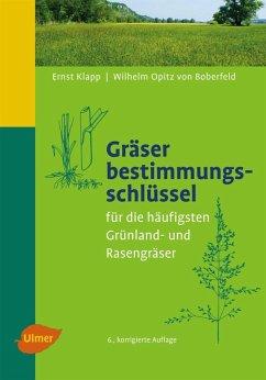 Gräserbestimmungsschlüssel (eBook, PDF) - Klapp, Ernst; Opitz v. Boberfeld, Wilhelm