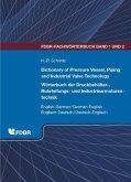 Dictionary of Pressure Vessel, Piping and Industrial Valve Technology / Wörterbuch der Druckbehälter-, Rohrleitungs- und Industriearmaturentechnik (eBook, PDF)