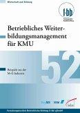 Betriebliches Weiterbildungsmanagement für KMU (eBook, PDF)