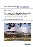 The Impact of the European Convention on Human Rights on Russian Law (eBook, PDF)