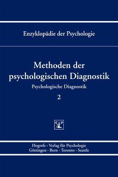 Methoden der psychologischen Diagnostik (eBook, PDF)