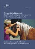 Tiergestützte Pädagogik: Das Pferd als pädagogisches Medium in der stationären Jugendhilfe (eBook, ePUB)