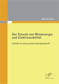 Der Einsatz von Windenergie und Elektromobilität: Schritte in eine positive Energiezukunft (eBook, PDF) - Rohrer, Michaela