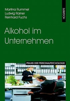 Alkohol im Unternehmen (eBook, PDF) - Fuchs, Reinhard; Rainer, Ludwig; Rummel, Martina