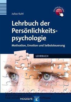 Lehrbuch der Persönlichkeitspsychologie (eBook, PDF) - Kuhl, Julius