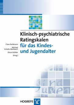 Klinisch-psychiatrische Ratingskalen für das Kindes- und Jugendalter (eBook, PDF)