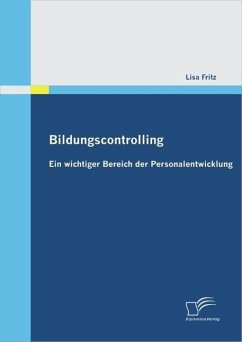 Bildungscontrolling: Ein wichtiger Bereich der Personalentwicklung (eBook, PDF) - Fritz, Lisa