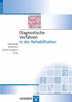 Diagnostische Verfahren in der Rehabilitation (Reihe: Diagnostik für Klinik und Praxis, Bd. 5) (eBook, PDF)
