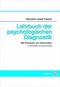 Lehrbuch der psychologischen Diagnostik (eBook, PDF) - Fisseni, Hermann-Josef