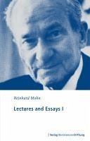 Lectures and Essays I (eBook, PDF) - Mohn, Reinhard