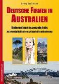 Deutsche Firmen in Australien (eBook, ePUB)