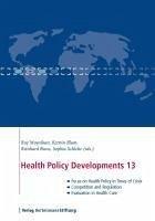 Health Policy Developments 13 (eBook, ePUB)