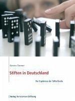 Stiften in Deutschland (eBook, PDF) - Timmer, Karsten