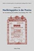 Nachkriegsjahre in der Provinz (eBook, PDF)