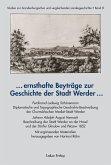 ... ernsthafte Beyträge zur Geschichte der Stadt Werder ... (eBook, PDF)