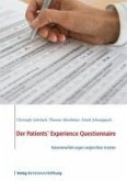 Der Patients' Experience Questionnaire (eBook, ePUB)