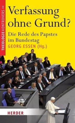 Verfassung ohne Grund? (eBook, ePUB)