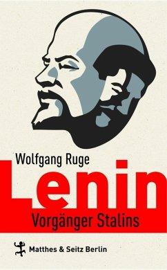 Lenin (eBook, ePUB) - Ruge, Wolfgang