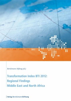 Transformation Index BTI 2012: Regional Findings Middle East and North Africa (eBook, PDF)