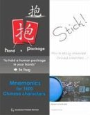 Mnemonics for 1600 Chinese characters (eBook, ePUB)