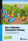 Das 5-Minuten-Einmaleins-Training. SoPäd 3. bis 6. Klasse