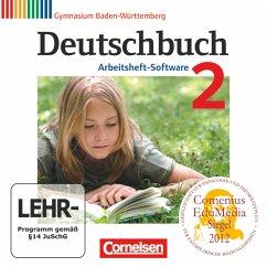 6. Schuljahr, Arbeitsheft-Software / Deutschbuch, Gymnasium Baden-Württemberg, Neubearbeitung Bd.2