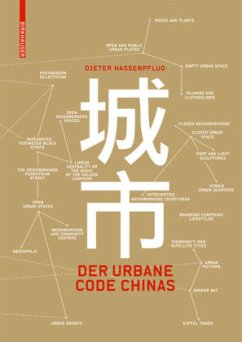 Der urbane Code Chinas - Hassenpflug, Dieter