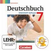 7. Schuljahr, Übungs-CD-ROM zum Arbeitsheft / Deutschbuch, Gymnasium, Arbeitsheft-Software