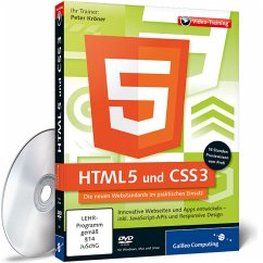 HTML5 und CSS3, DVD-ROM