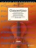 Concertino, für Violine und Klavier, Partitur und Stimme