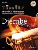 World Of Percussion: Djembé, m. Audio-CD
