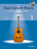 Easy Concert Pieces, für Gitarre, m. Audio-CD
