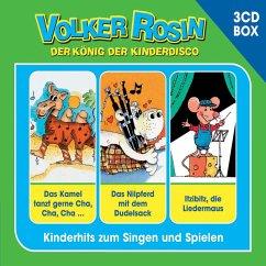 Volker Rosin 3-CD Liederbox, 3 Audio-CDs - Rosin, Volker