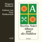 Allmen und die Dahlien / Johann Friedrich Allmen Bd.3 (4 Audio-CDs)