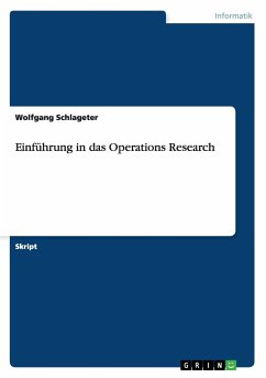 Einführung in das Operations Research