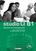 studio d - Grundstufe B1: Gesamtband. Unterrichtsvorbereitung (Print)