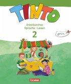 TINTO 2-4 2. Schuljahr. Sprachlesebuch 2: Grüne Ausgabe. Arbeitsordner Sprache und Lesen