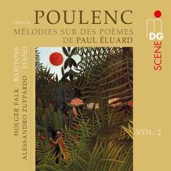 Melodies Sur Des Poèmes De Paul Éluard - Falk,Holger/Zuppardo,Alessandro