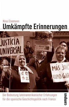Umkämpfte Erinnerungen (eBook, PDF) - Elsemann, Nina