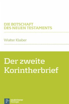 Der zweite Korintherbrief (eBook, PDF) - Klaiber, Walter
