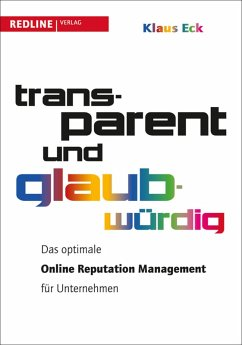 Transparent und glaubwürdig (eBook, PDF) - Eck, Klaus