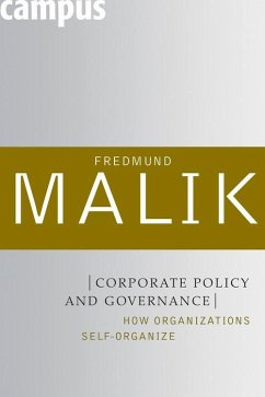 Corporate Policy and Governance (eBook, ePUB) - Malik, Fredmund