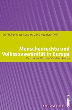 Menschenrechte und Volkssouveränität in Europa (eBook, PDF)