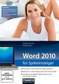 Word 2010 für Späteinsteiger (eBook, PDF)