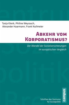 Abkehr vom Korporatismus? (eBook, PDF)