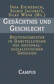 Gedächtnis und Geschlecht (eBook, PDF)
